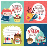 Christmas cards Stock Image