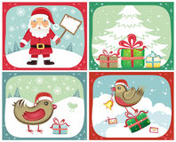 Christmas cards sets 2 Stock Photography