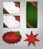 Christmas Cards. Vector Royalty Free Stock Images