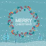 Christmas Cards. Vector Illustration Royalty Free Stock Photography