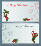Christmas cards Royalty Free Stock Images