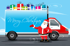 Christmas Cargo Royalty Free Stock Photo