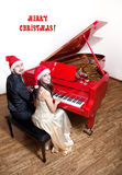 Christmas carol Royalty Free Stock Photos