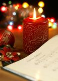 Christmas carol Royalty Free Stock Images