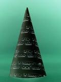 Christmas carol tree Stock Images