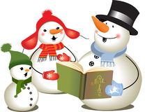 Christmas carols Stock Images