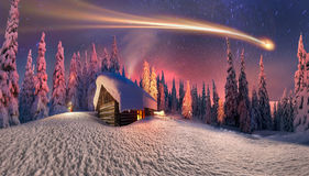Christmas in the Carpathians Royalty Free Stock Photo