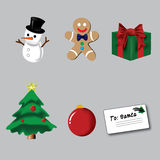 Christmas Cartoon Royalty Free Stock Images