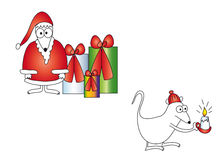 Christmas cartoon Royalty Free Stock Photo