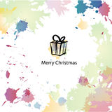 Christmas cartoon background Royalty Free Stock Photos