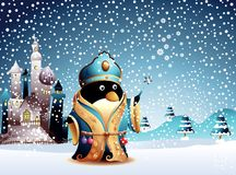 Christmas Cartoon Character 2 Stock Images