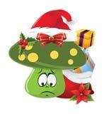 Christmas Cartoon face emotions Stock Photo
