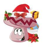 Christmas Cartoon face emotions Stock Photos