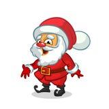 Christmas cartoon of Santa Claus. Vector illustration. royalty free illustration