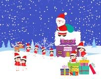 Christmas Cartoons Stock Photos