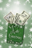 Christmas Cash Royalty Free Stock Photo
