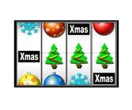 Christmas casino Royalty Free Stock Image