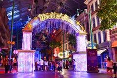Christmas Celebration 2017 At Universal Studios Singapore Stock Images