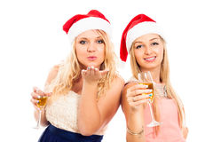 Christmas celebration Royalty Free Stock Images