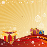 Christmas celebration background Stock Images