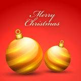 Christmas celebration greeting card. Stock Images
