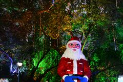 Christmas Celebration In Kolkata Royalty Free Stock Photos
