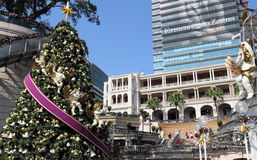 Christmas celebration in Kowloon Stock Images