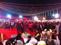 Christmas celebration in mumbai Royalty Free Stock Image