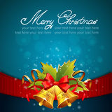 Christmas celebration sparkling postcard Stock Photography