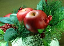 Christmas Centerpiece Stock Photography