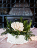 Christmas centerpieces. Stock Images