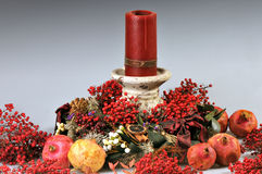 Christmas Centre-piece Stock Image