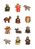 Christmas ceramics Royalty Free Stock Image