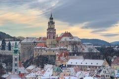 Christmas in Cesky Krumlov Stock Image