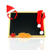 Christmas chalkboard Stock Images