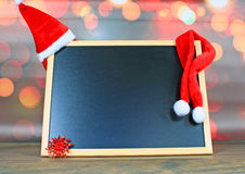 Christmas chalkboard Stock Photos