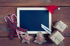 Christmas chalkboard Royalty Free Stock Image