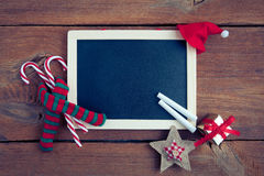 Christmas chalkboard Royalty Free Stock Images