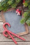 Christmas chalkboard for your greetings Royalty Free Stock Photo
