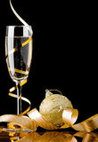 Christmas Champagne Royalty Free Stock Image