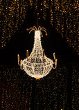 Christmas chandelier Royalty Free Stock Photography