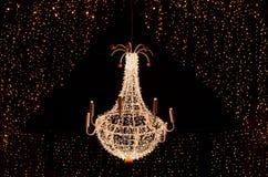 Christmas chandelier Stock Photo