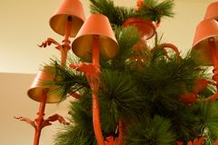 Christmas Chandelier Royalty Free Stock Photos