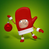 Christmas character Royalty Free Stock Image