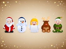 Christmas Character Stock Photography