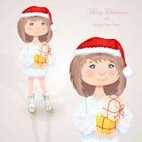 Christmas character. Royalty Free Stock Photo