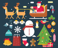 Christmas character and  New Year ,Santa Claus  Royalty Free Stock Photography