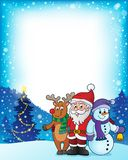 Christmas characters theme image 3 Royalty Free Stock Photos