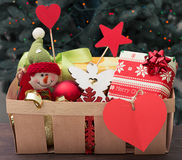 Christmas charity Royalty Free Stock Photography