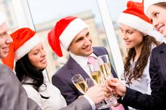 Christmas cheers Stock Image